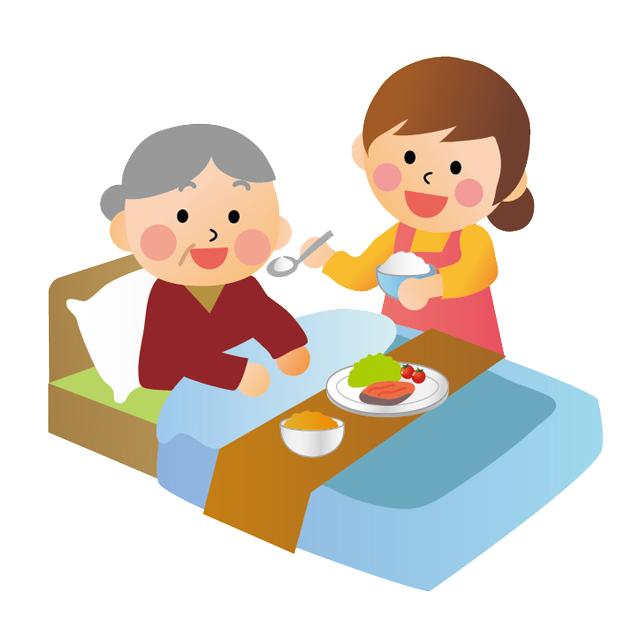 おばあちゃんの介助