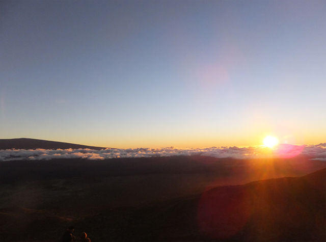 ハワイ島マウナケア山頂から見る景色