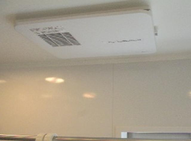浴室の天井埋込型脱衣所暖房